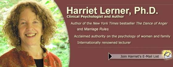 Dr. Harriet Lerner