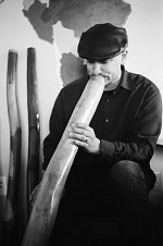 Joseph Carringer to discuss didgeridoo music and healing on Holistic Health Show.
