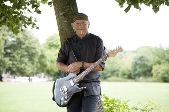 Martin Barre has been the guitarist for rock band Jethro Tull since 1969. He has appeared on every Jethro Tull album except their debut This Was (1968).  Barre has stated in interviews that guitarist Leslie West from American rock band Mountain was a direct influence on his playing. He has also acted as a flautist both on-stage for Tull, and in his own solo work
