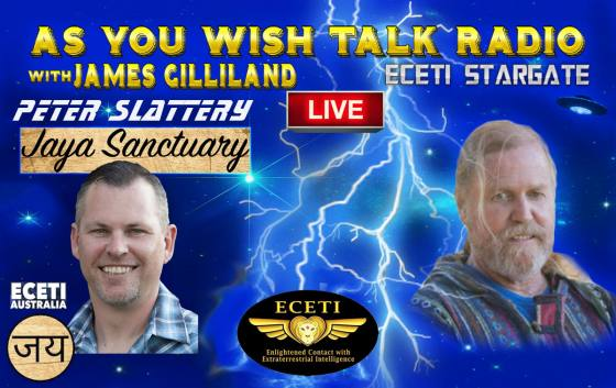 "Guest, Peter Slattery LIVE From the ""Jaya Sanctuary"" (ECETI AUSTRALIA)"