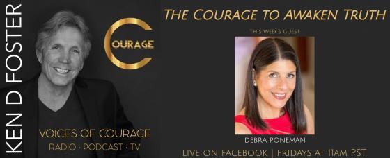 Debra Poneman, the Courage to Awaken Truth