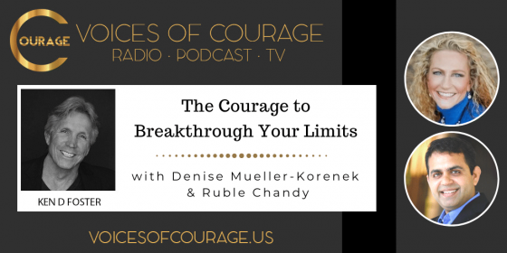 The Courage to Breakthrough Your Limits with Denise Mueller-Korenek and Ruble Chandy