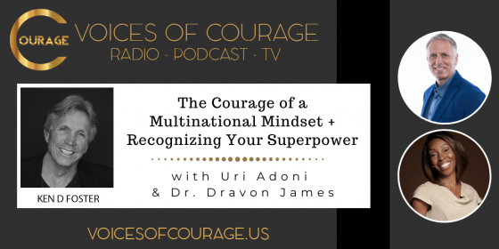 Uri Adoni and Dr. Dravon James, having a multinational mentality and reducing stress
