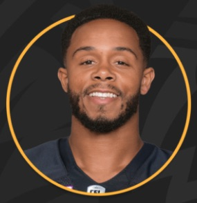 Guest, DeVier Posey is a 2008 Watkins Award Honoree. He currently plays professional football for the Hamilton Tiger-Cats of the Canadian Football League (CFL)