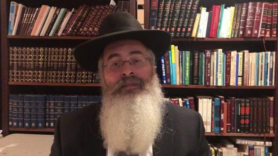 Rabbi Yitzchak Dovid Smith, lawyer who studied biology, virology, infectious disease at UC Berkley