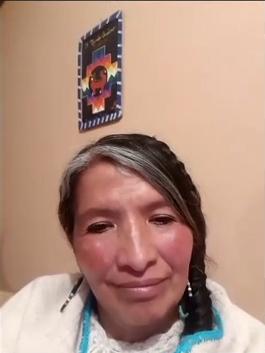 Rosa Maria Vargas Shaman from Lake Titicaca