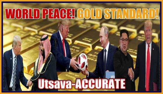 Guest, Utsava-ACCURATE, World Peace & Gold Standard Coming!! Silver & Gold Updates, Trump, North Korea, Saudi Arabia, Russia, Media Dismantled, Clones, Emergency Broadcast System, Blackout, Spiritual Ego, Q&A