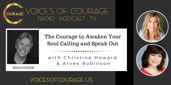 Having the courage to speak up and speak out with Christine Howard and Arvee Robinson