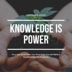 CBD knowledge is power