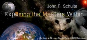 Exposing the Masters Within with John F. Schulte, banner