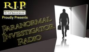 Paranormal Investigator Radio with Peter Leonard, Rich Nikodem, and Steve Roscoe, banner
