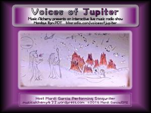 Voices of Jupiter Interactive Live Music Radio Show
