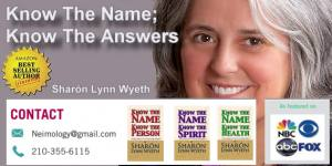 Know the Name; Know the Answers with Sharón Lynn Wyeth