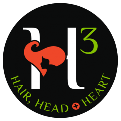 Hair, Head and Heart logo picture representing Mary Reed-Johnson