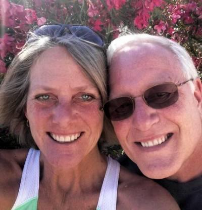 Commander Rob Hansen, USN (retired) and Nancy Hansen