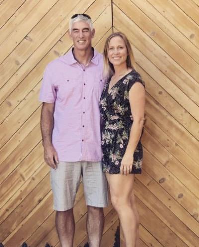Stefanie Thayer and Dr Craig Thayer
