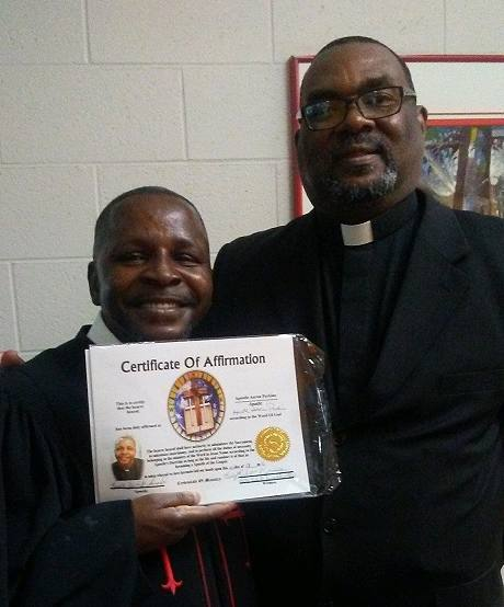 Archbishop Aaron Perkins