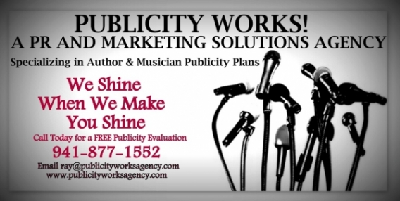 'Publicity Works Agency' PR and Marketing Solutions for Authors & Musicians