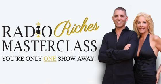 April and Ajay Matta Radio Riches Masterclass