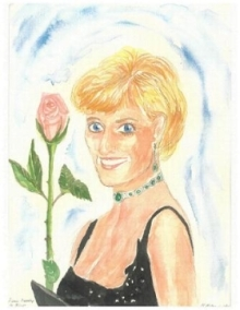 Marcia McMahon channels Princess Diana