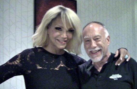 Lance White with Maria Roman