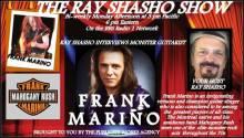 Legendary guitarist Frank Marino on The Ray Shasho Show