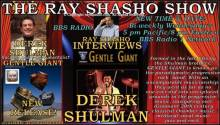 Gentle Giant legend Derek Shulman visits The Ray Shasho Show