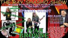 "Ray Shasho welcomes Ivan Browne the voice of Top 40 classic ""Green Tambourine"""