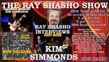 Guitar Virtuoso Kim Simmonds Interviewed on The Ray Shasho Show