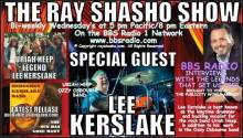Ray Shasho welcomes Lee Kerslake legendary drummer
