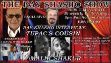 Malik Shakur (Tupac's cousin) special guest on The Ray Shasho Show