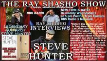Steve Hunter Monster Guitarist Special Guest on The Ray Shasho Show