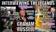 Graham Russell chats about new live album and tour exclusive interview