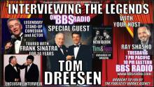 Tom Dreesen toured with Frank Sinatra for 14 years Exclusive Interview