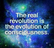 The real revolution is the evolution of consciousness