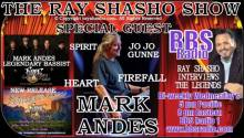 Legendary Bassist Mark Andes Special Guest on The Ray Shasho Show