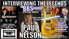 Interviewing The Legends Welcomes Guitarist-Songwriter and Producer Paul Nelson