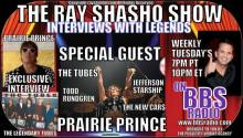 Prairie Prince legendary drummer on The Ray Shasho Show