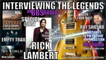 Interviewing The Legends welcomes guitarist, singer, songwriter and producer Rick Lambert