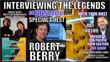 Robert Berry American guitarist, vocalist and producer on Interviewing the Legends