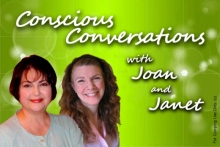 Conscious Conversations with Joan & Janet banner