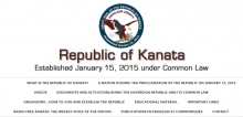 Republic of Kanata Logo and information