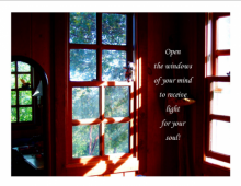 Open the windows of your mind