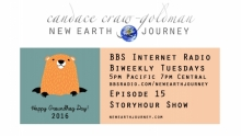 New Earth Journey Storyhour Groundhog day 2016