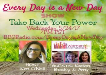 Women Up International - Kaelen, Becky and Amy
