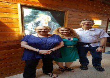 Det David Love, Dr Lana Love, and Nancy McMoneagle at The Monroe Institute