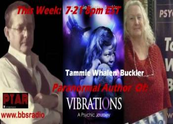 Author Tammie Whalen Buckler - Vibrations a psychic journey