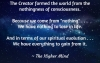 Universal Soul Love Quotes - Because we come from nothing . . .