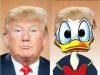 Donald Trump and Donald Duck