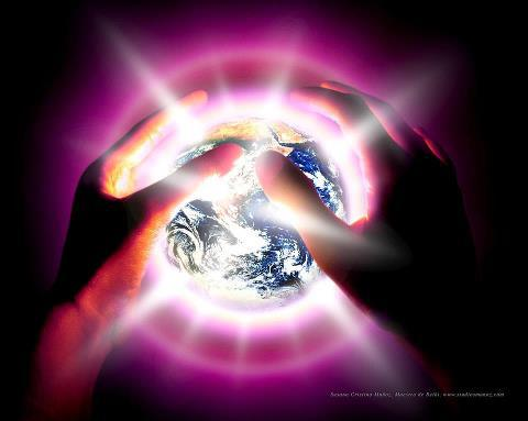 hold the earth in your hands